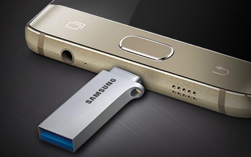 photo vers USB